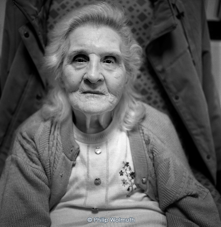 Rosie, aged 91, is a regular visitor at Age Concern Camden's Great Croft Resource Centre in King's Cross, which is threatened with closure following cuts to the organisation's funding by Camden Council.