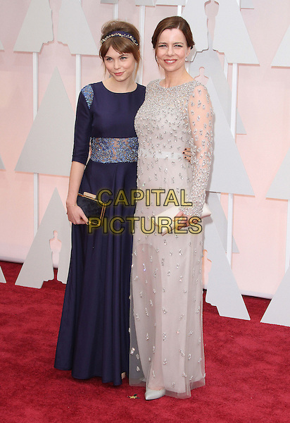 22 February 2015 - Hollywood, California - Agata Trzebuchowska, Agata Kulesza. 87th Annual Academy Awards presented by the Academy of Motion Picture Arts and Sciences held at the Dolby Theatre. <br /> CAP/ADM<br /> &copy;AdMedia/Capital Pictures Oscars