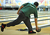 Chris Vietri of Holy Trinity High School rolls during the Nassau-Suffolk CHSAA boys' bowling individual championship at AMF Babylon Lanes on Thursday, Feb. 11, 2016. He won the league title with a 751 three game series and had a high game of 289.