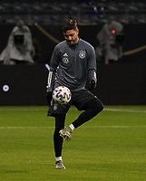 Jonas Hector (Deutschland Germany) - 18.11.2019: Deutschland Abschlusstraining, Commerzbank Arena Frankfurt, EM-Qualifikation DISCLAIMER: DFB regulations prohibit any use of photographs as image sequences and/or quasi-video.