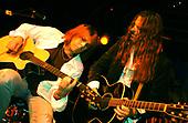 Dokken - Reb Beach performing with Don Dokken on the VH1 Metal Mania Tour at Sirius Satellite Radio Station, New York - circa 2004 - Photo by: Eddie Malluk /IconicPix