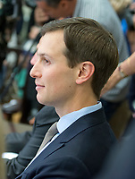 Senior Advisor to the President Jared Kushner attends the first Meeting of the President's Commission on Combating Drug Addiction and the Opioid Crisis in the Eisenhower Executive Office Building in Washington, DC on Friday, June 16, 2017. PhotoCredit: Ron Sachs/CNP/AdMedia