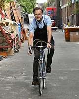 JUL 12 David Morrissey photocall for The Bike Project