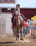 Melody Minxy races in the 54th International Camel Races in Virginia City, Nev., on Friday, Sept. 6, 2013.  <br /> Photo by Cathleen Allison
