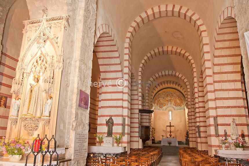 France, Ariège (09), Tarascon, chapelle Notre-Dame de Sabart // France, Ariège, Tarascon, chapel Notre-Dame de Sabart