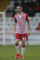 Charlie Lakin of Stevenage during Stevenage vs Salford City, Sky Bet EFL League 2 Football at the Lamex Stadium on 15th February 2020