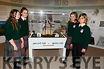 Rosie Jakeryte, Lauren Griffin, Holly Richardson and Kate Clifford Killorglin Comm College students doing a tour of the Kerry County Museum on Tuesday.