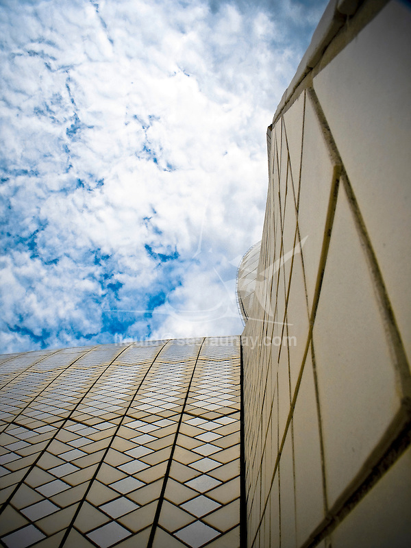 Details of the Sydney Opera House.