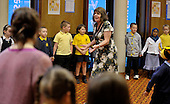 Julia Donaldson - the new Children's Laureate - made her first public appearance since her appointment at Hillhead Library in Glasgow - children from Barmulloch and Camstradden Primary Schools attended - Picture by Donald MacLeod - 14.06.11 - 07702 319 738 - www.donald-macleod.com - clanmacleod@btinternet.com