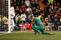 6th November 2019; Estadio Santiago Bernabeu, Madrid, Spain; UEFA Champions League Football, Real Madrid versus Galatasaray; Karim Benzema (Real Madrid)  celebrates his goal which made it 4-0 in the 45th minute  - Editorial Use