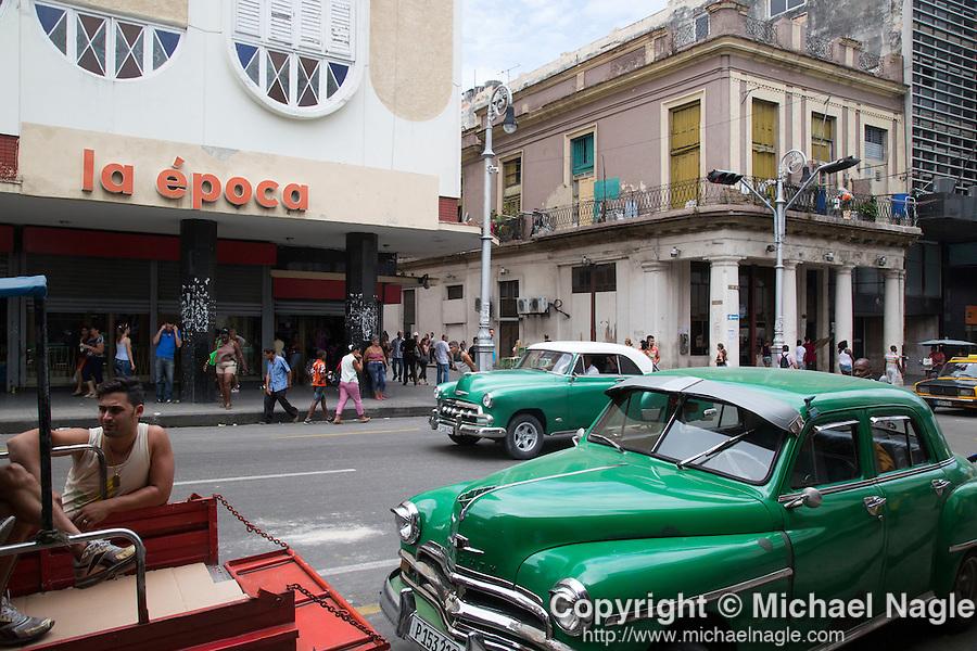 HAVANA, CUBA -- MARCH 24, 2015:   Havana, Cuba on March 24, 2015. Photograph by Michael Nagle