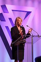 September 24 2012 - Montreal Quebec CANADA - Gala des femmes de Merite du Y - Nathalie Bernier, associee directeure, KPMG, Prix Femme de Merite 2012 - Affaires et professions.