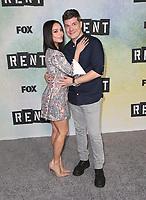 "08 January 2019 - Los Angeles, California - Vanessa Hudgens, Stephen Oremus. FOX Hosts ""RENT"" Press Junket held at the FOX Lot. Photo Credit: Faye Sadou/AdMedia"