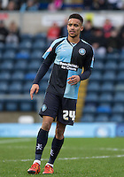 Paris Cowan-Hall of Wycombe Wanderers during the Sky Bet League 2 match between Wycombe Wanderers and Luton Town at Adams Park, High Wycombe, England on 6 February 2016. Photo by Andy Rowland.