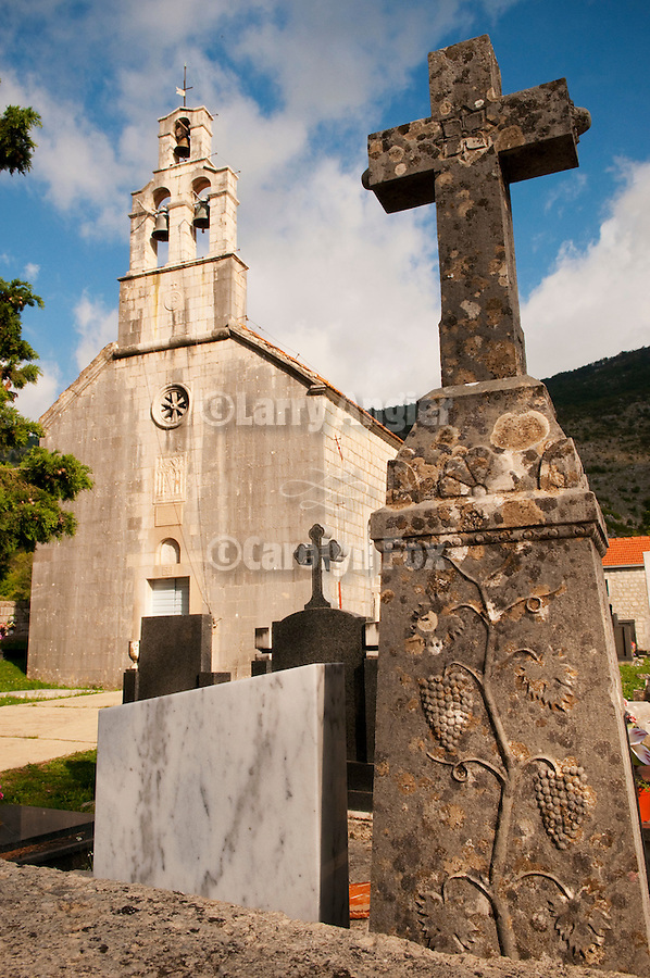 St. Nicolas Church, in the hometown of of Fr. Sabastian Dabovich, Krusevice, Montenegro.