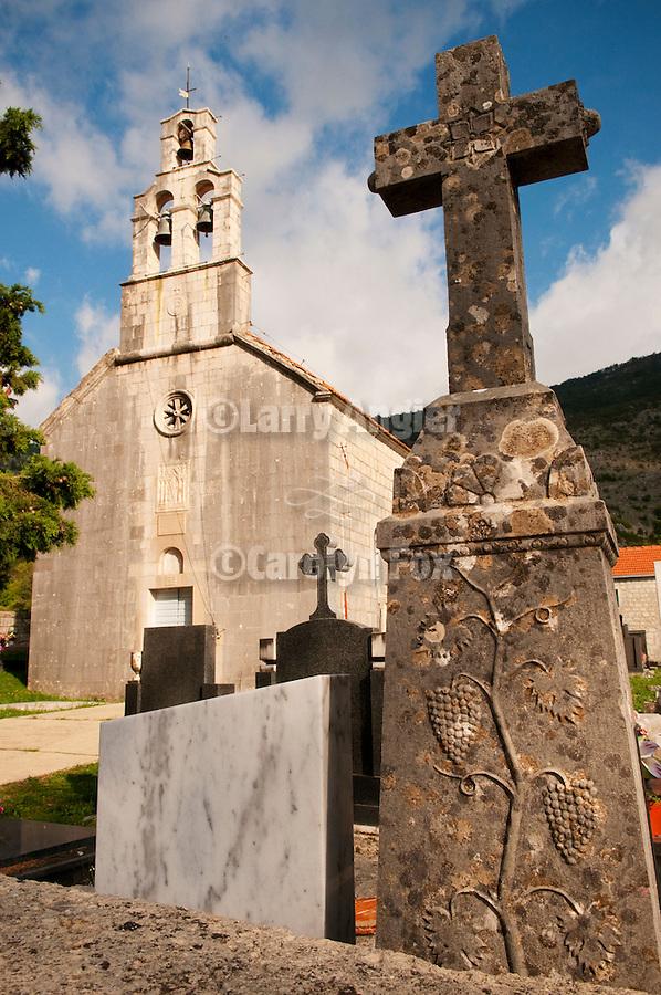 St. Nicolas Church, in the hometown of of Fr. Sabastian Dabovich, Krusevice, Montenegro.