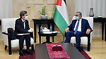 Palestinian Prime Minister Mohammad Ishtayeh, receives the representative of Japan in the West Bank city of Ramallah, on June 23, 2020. Photo by Prime Minister Office