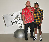Chris McNaughten and Jon Swan at the &quot;True Love or True Lies?&quot; MTV brand new show launch  photocall, MTV HQ, Hawley Crescent, London, England, UK, on Tuesday 07 August 2018.<br /> CAP/CAN<br /> &copy;CAN/Capital Pictures