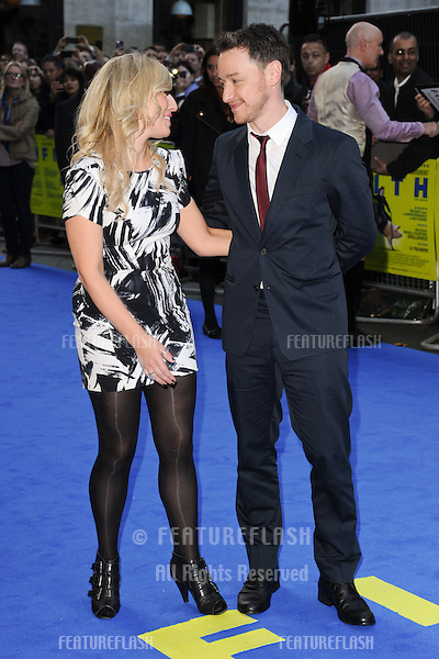 "James McAvoy and sister, Joy McAvoy arriving for the ""Filth"" premiere at the Odeon Leicester Square, London. 30/09/2013 Picture by: Steve Vas / Featureflash"