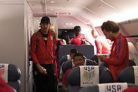 Mexico City, Mexico - Thursday, June 09, 2017: The USMNT travel to Mexico City in advance of their 2018 FIFA World Cup Qualifying Final Round match versus the men's national team of Mexico.