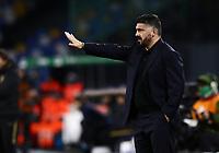 6th January 2020; Stadio San Paolo, Naples, Campania, Italy; Serie A Football, Napoli versus Inter Milan; Gennaro Gattuso coach of Napoli - Editorial Use