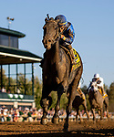 OCT 05: Maxfield with Jose Ortiz wins the Claiborne<br /> Breeders Futurity Stakes at Keeneland Racecourse, Kentucky on October 05, 2019. Evers/Eclipse Sportswire/CSM