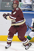 Mike Brennan - The Boston College Eagles defeated the University of North Dakota Fighting Sioux 6-5 on Thursday, April 6, 2006, in the 2006 Frozen Four afternoon Semi-Final at the Bradley Center in Milwaukee, Wisconsin.