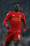 Sadio Mane of Liverpool during the Premier League match at the Anfield Stadium, Liverpool. Picture date: November 26th, 2016. Pic Simon Bellis/Sportimage