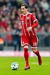 10.03.2018, Allianz Arena, Muenchen, GER, 1.FBL,  FC Bayern Muenchen vs. Hamburger SV, im Bild Sebastian Rudy (FCB #19) <br /> <br />  Foto &copy; nordphoto / Straubmeier