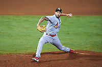 Glendale Desert Dogs pitcher Ryan Sherriff (23), of the St. Louis Cardinals organization, during a game against the Peoria Javelinas on October 18, 2016 at Peoria Stadium in Peoria, Arizona.  Peoria defeated Glendale 6-3.  (Mike Janes/Four Seam Images)