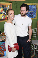 04 October 2018 - Los Angeles , California - Sam Taylor-Johnson, Aaron Taylor-Johnson. &quot;My Dinner with Herve&quot; Los Angeles Premiere held at Paramount Studios.     <br /> CAP/ADM/BT<br /> &copy;BT/ADM/Capital Pictures