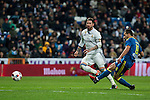 during the match of Copa del Rey between Real  Madrid and  Celta de Vigo at Santiago Bernabeu Stadium  in Madrid , Spain. January 18 2017. (ALTERPHOTOS/Rodrigo Jimenez)
