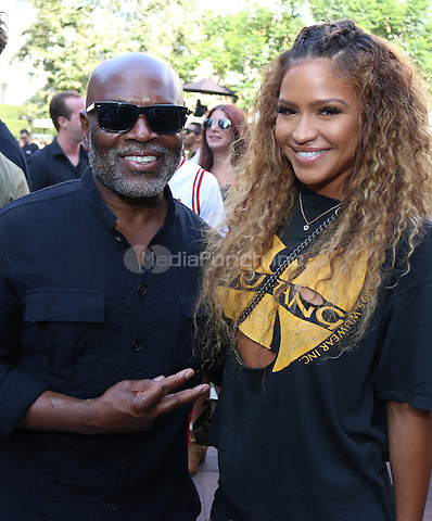 CULVER CITY, CA - JUNE 25, 2016 LA Reid & Cassie attend Epic Fest at Sony Pictures Studio, June 25, 2016 in Culver City, CA. Photo Credit: Walik Goshorn / Media Punch