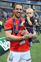 Saracens' Chris Wyles<br /> <br /> Photographer Rachel Holborn/CameraSport<br /> <br /> European Rugby Champions Cup Final - Clermont Auvergne v Saracens - Saturday 13th May 2017 - BT Murrayfield, Edinburgh<br /> <br /> World Copyright &copy; 2017 CameraSport. All rights reserved. 43 Linden Ave. Countesthorpe. Leicester. England. LE8 5PG - Tel: +44 (0) 116 277 4147 - admin@camerasport.com - www.camerasport.com