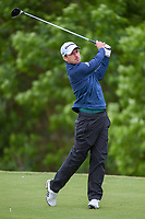Nick Taylor (CAN) watches his tee shot on 9 during round 2 of the AT&T Byron Nelson, Trinity Forest Golf Club, Dallas, Texas, USA. 5/10/2019.<br /> Picture: Golffile | Ken Murray<br /> <br /> <br /> All photo usage must carry mandatory copyright credit (© Golffile | Ken Murray)