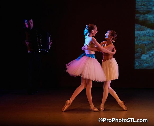 Little Dancer presented by COCA in St. Louis, Missouri on Dec 8, 2016.