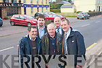 Rathmore Community Council are calling on the local community to join the effort of the community council in helping improve the area. .Back L-R Chairman, Niall Kelleher and Frank Buckley .Front L-R Donal O'Donoghue,  Denis Houlihan, and Donal McCarthy..