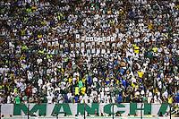 SÃO PAULO, SP, 23.08.2014 - CAMPEONATO BRASILEIRO 2014 - PALMEIRAS x CORITIBA  - Torcida do Palmeiras, durante partida válida pela 17ª rodada do Campeonato Brasileiro 2014, série A, entre as equipes do Palmeiras e Coritiba, no estádio Paulo Machado de Carvalho, o Pacaembú, neste sábado, 23. (Foto: Geovani Velasquez / Brazil Photo Press).