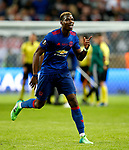 Paul Pogba of Manchester United dances during the celebrations after the UEFA Europa League Final match at the Friends Arena, Stockholm. Picture date: May 24th, 2017.Picture credit should read: Matt McNulty/Sportimage
