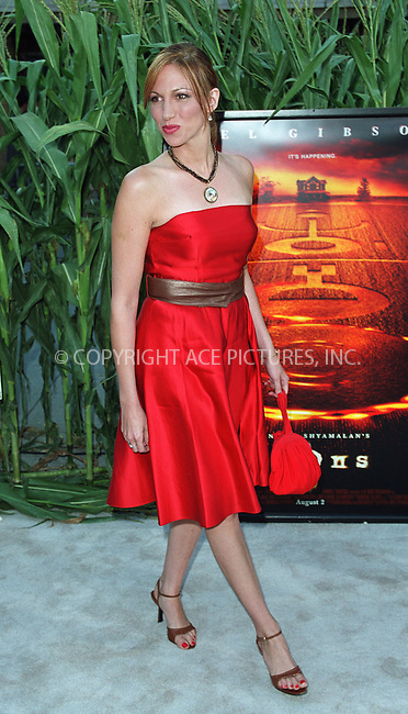 """Deborah Gibson arrives at the world premiere of Touchstone Pictures' movie, """"Signs"""" at Lincoln Center, New York. July 29, 2002. Please byline: Alecsey Boldeskul/NY Photo Press.   ..*PAY-PER-USE*      ....NY Photo Press:  ..phone (646) 267-6913;   ..e-mail: info@nyphotopress.com"""