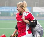 ALMERE - Hockey - Overgangsklasse competitie dames ALMERE- ROTTERDAM (0-0) . Almere keeper Danielle van der Poel    COPYRIGHT KOEN SUYK