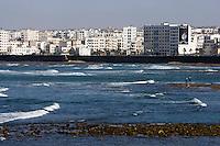 Afrique/Afrique du Nord/Maroc /Casablanca: la ville moderne et le front de mer