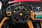 Car pictures of steering wheel view of a 2015 Ferrari California T 2 Door Convertible Steering Wheel