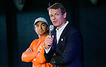 Team Alvimedica Skipper Charlie Enright and Volvo Ocean Race CEO Knut Frostad attend the Ocean Summit as part of the activities of the Volvo Ocean Race stopover on June 26, 2015 in Gothenburg, Sweden. Photo by Victor Fraile / Power Sport Images
