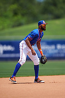 St. Lucie Mets shortstop Amed Rosario (1) during a game against the Brevard County Manatees on April 17, 2016 at Tradition Field in Port St. Lucie, Florida.  Brevard County defeated St. Lucie 13-0.  (Mike Janes/Four Seam Images)