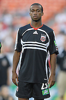 US Open Cup Quarterfinal, United .forward Jamil Walker (23) during the team presentation. DC United defeated the New York Red Bulls 3-1, Wednesday, August 23, 2006 at RFK Stadium.