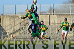 Tomas O'Se Kerry v Conor Talty Limerick Institute Technology in the Quarter Final of the McGrath Cup at Austin Stack Park, Tralee on Sunday 16th January.