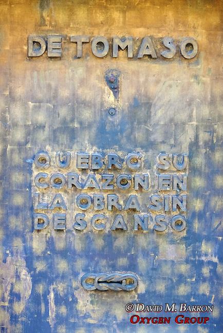 Detomaso Tomb, La Recoleta Cemetery