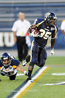 26 September 2009:  FIU running back Trenard Turner (35) retruns a kickoff in the first quarter of the Toledo 41-31 victory over FIU at FIU Stadium in Miami, Florida.