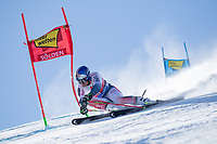 27th October 2019; Soelden, Austria; Mens FIS World Cup skiing, giant slalom;   Alexis Pinturault of France in action during his 1st run